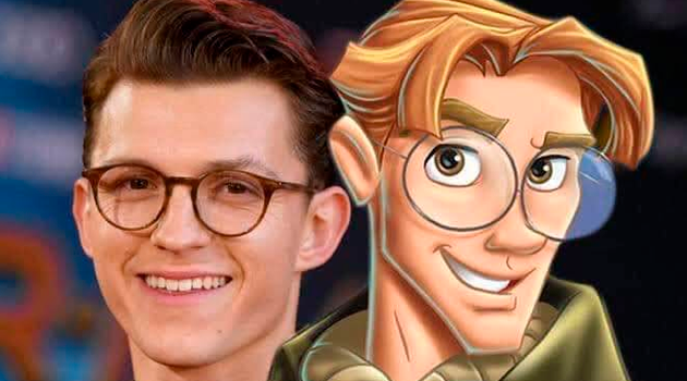 ¿Remake de Atlantis será protagonizado por Tom Holland?