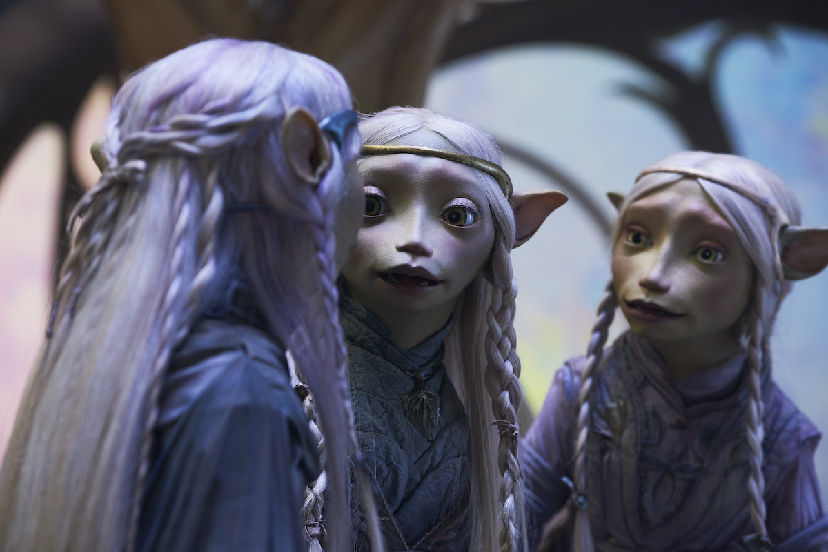 "reseña: ""The dark crystal: age of resistance"""