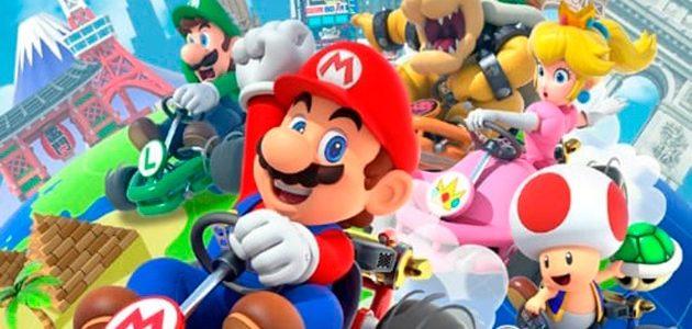 Mario Kart Tour para celulares rompe récords de descargas en el día de su lanzamiento