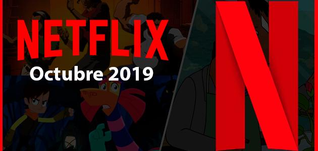 Series y películas animadas que llegan y se van de Netflix octubre 2019