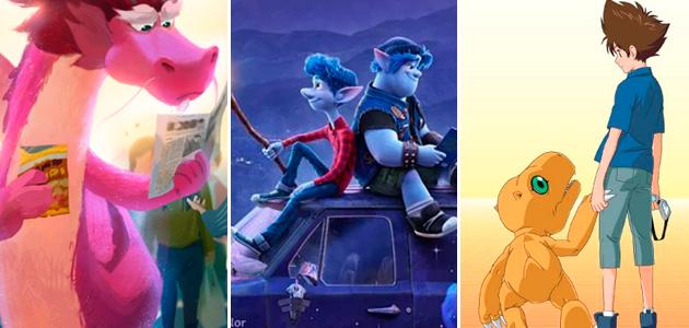 13 películas animadas que se estrenarán en el 2020
