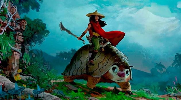 Raya and the Last Dragon: conoce más sobre la nueva princesa Disney