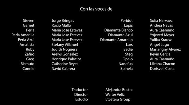 Steven Universe la película en español latino