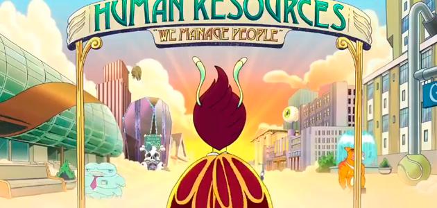 Primer teaser oficial de la serie Human Resources, el spin-off de Big Mouth