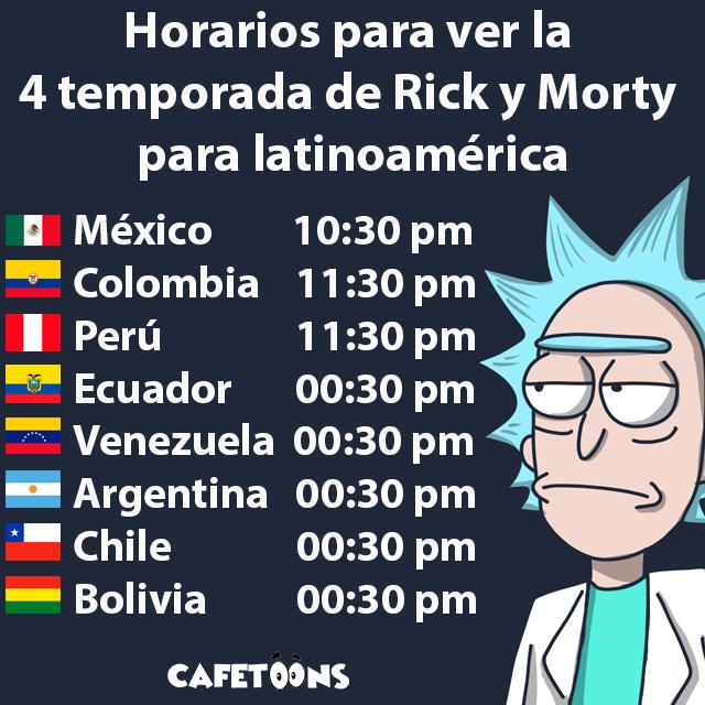 rick y morty 4 latinoamerica