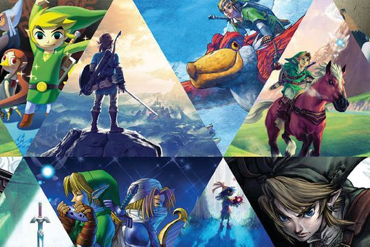 serie animada de legend of zelda