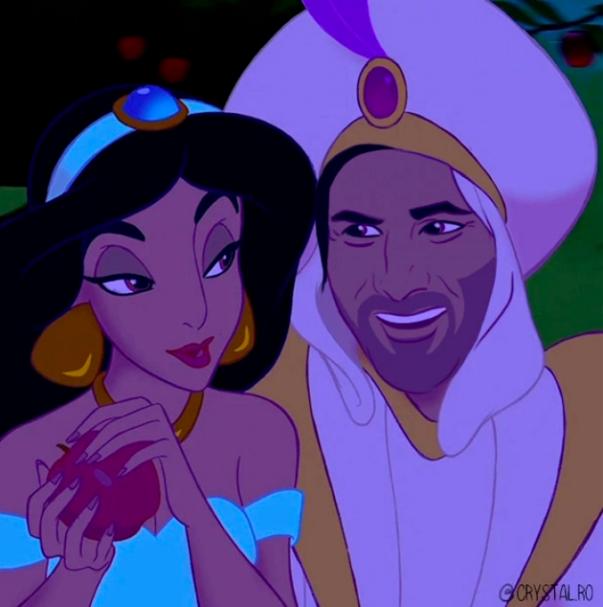 Aladdin / Créditos: @crystal.ro