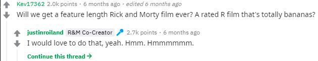 película de rick y morty