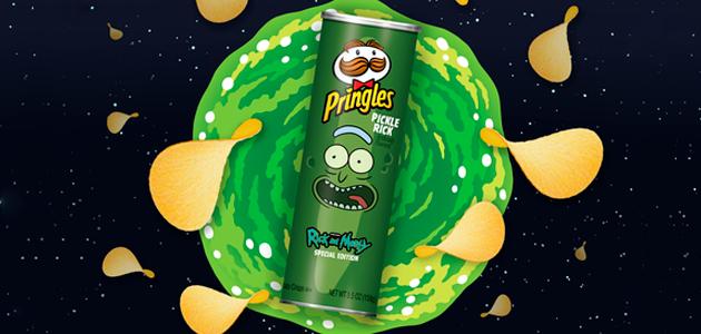 Presentarán Pringles sabor Pickle Rick basado en episodio de Rick y Morty
