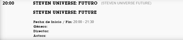 steven universe future en español latino