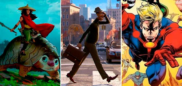 La agenda de estrenos de Disney para el 2020 | Películas y Series