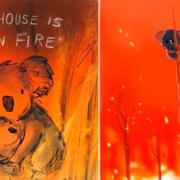 Ilustraciones demuestran la destrucción de los incendios en Australia |FOTOS