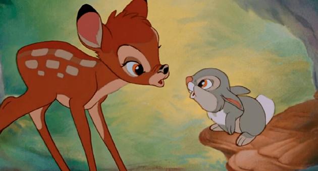 live action de bambi