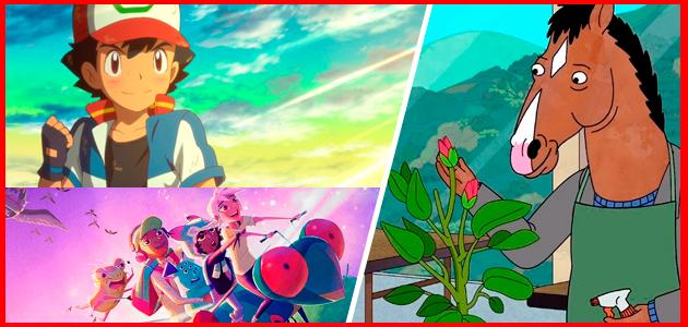 Series y películas animadas que llegan y se van de Netflix enero 2020