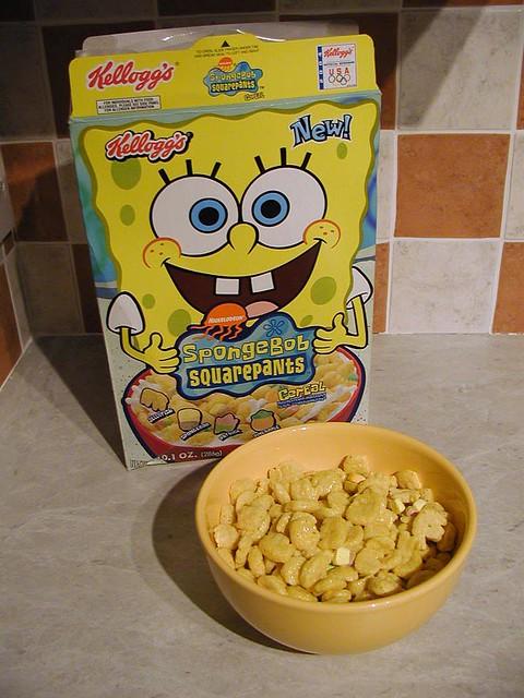 cereal de bob esponja