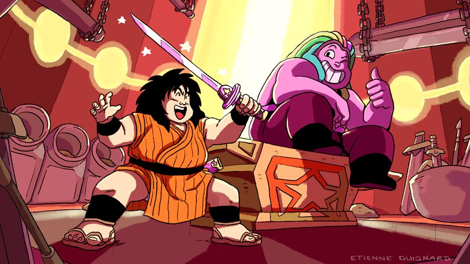 dragon ball y steven universe