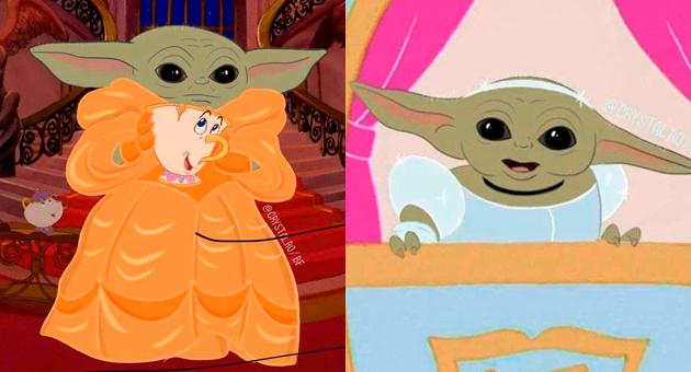 ilustraciones de las princesas Disney