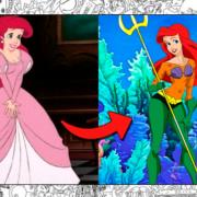 Ilustraciones de las princesas Disney si fueran heroínas de Marvel y DC
