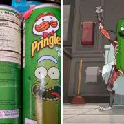 Pringles sabor Pickle Rick llegan a México y te contamos dónde comprarlas