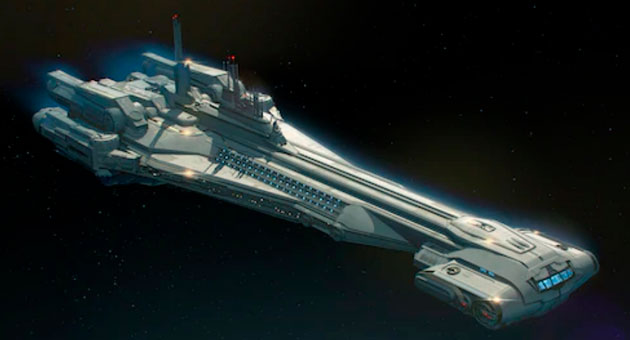 crucero de star wars