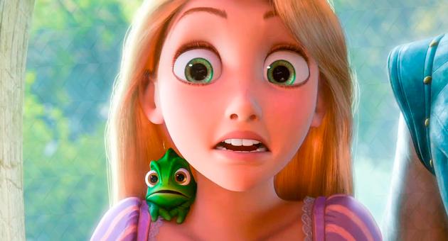 live action de Rapunzel