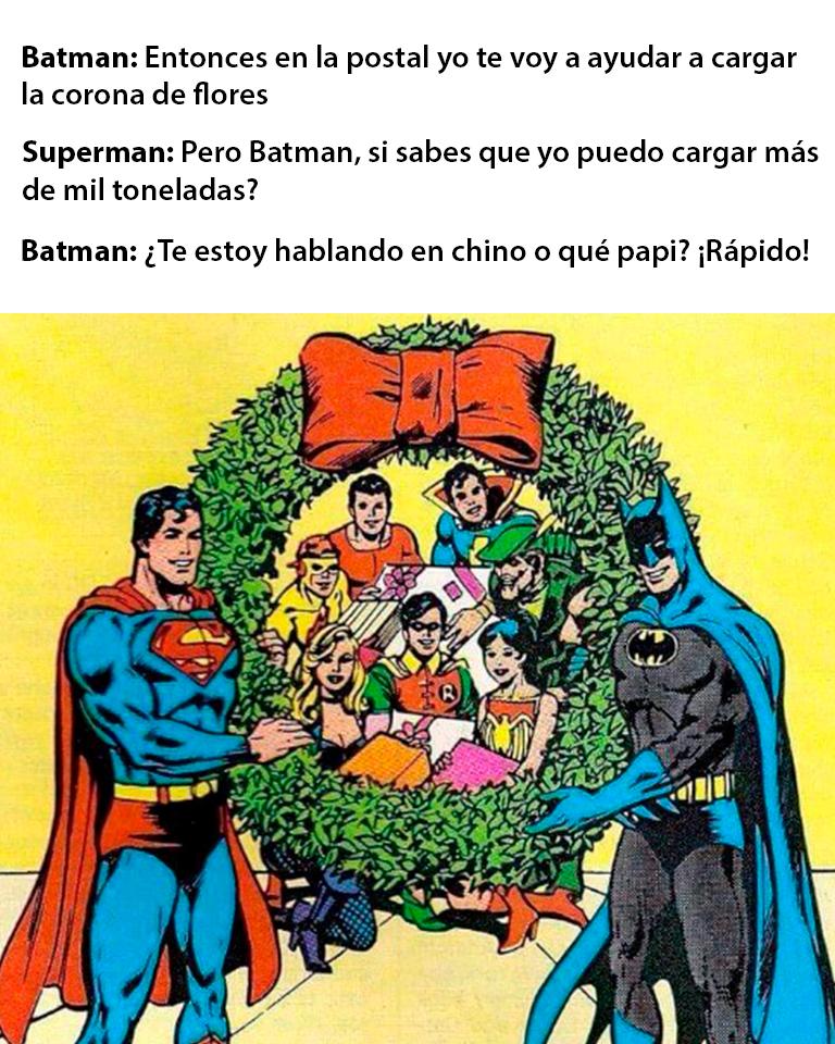 memes de Batman y Superman