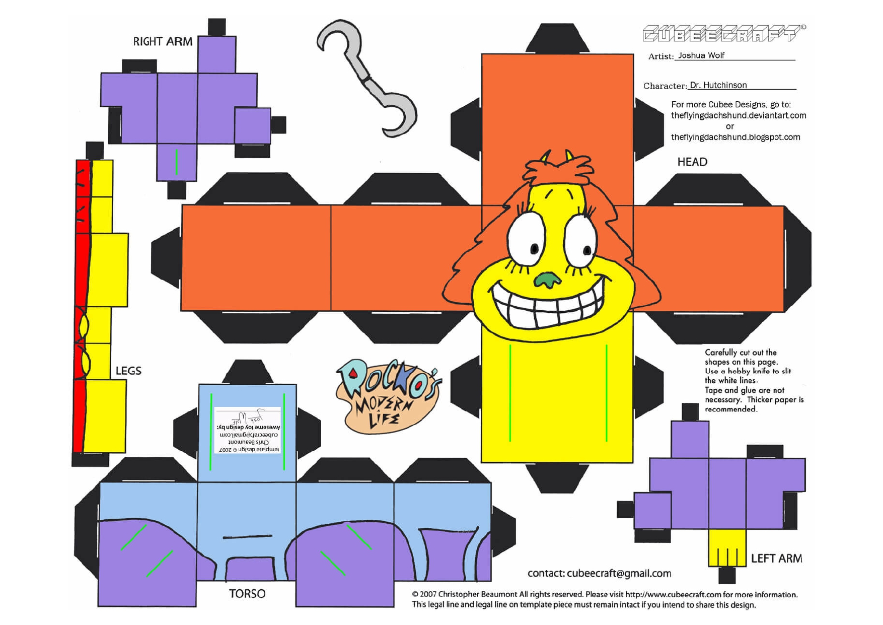 plantillas de papercraft