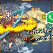 Te contamos cómo descargar los stickers de Avatar la leyenda de Aang para Whatsapp