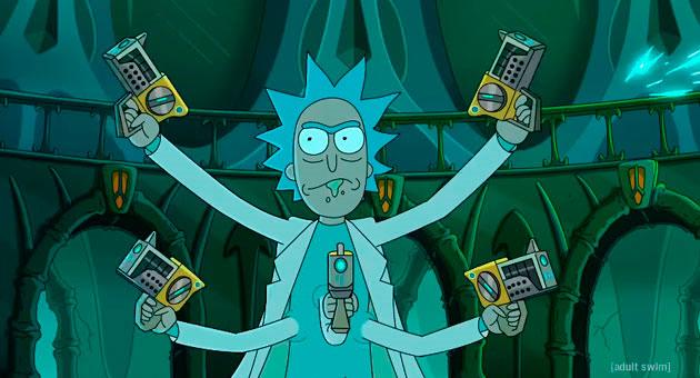 cuarta temporada de Rick y Morty