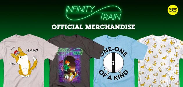 merchandising infinity train