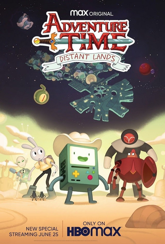 adventure time distant lands