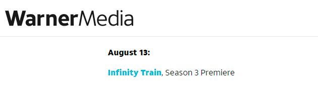 estreno de Infinity Train Book 3