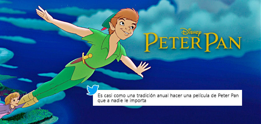 Live action de Peter Pan