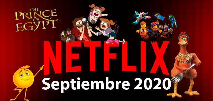 netflix septiembre 2020